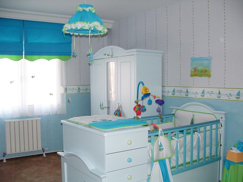 Шторы в детской комнате мальчика